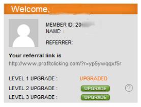 Cara Daftar Profit clicking
