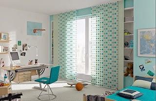 Dormitorios juveniles color turquesa ideas para decorar - Decoracion juvenil paredes ...