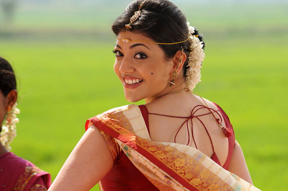 Kajal Agarwal in Bridal Saree Photos