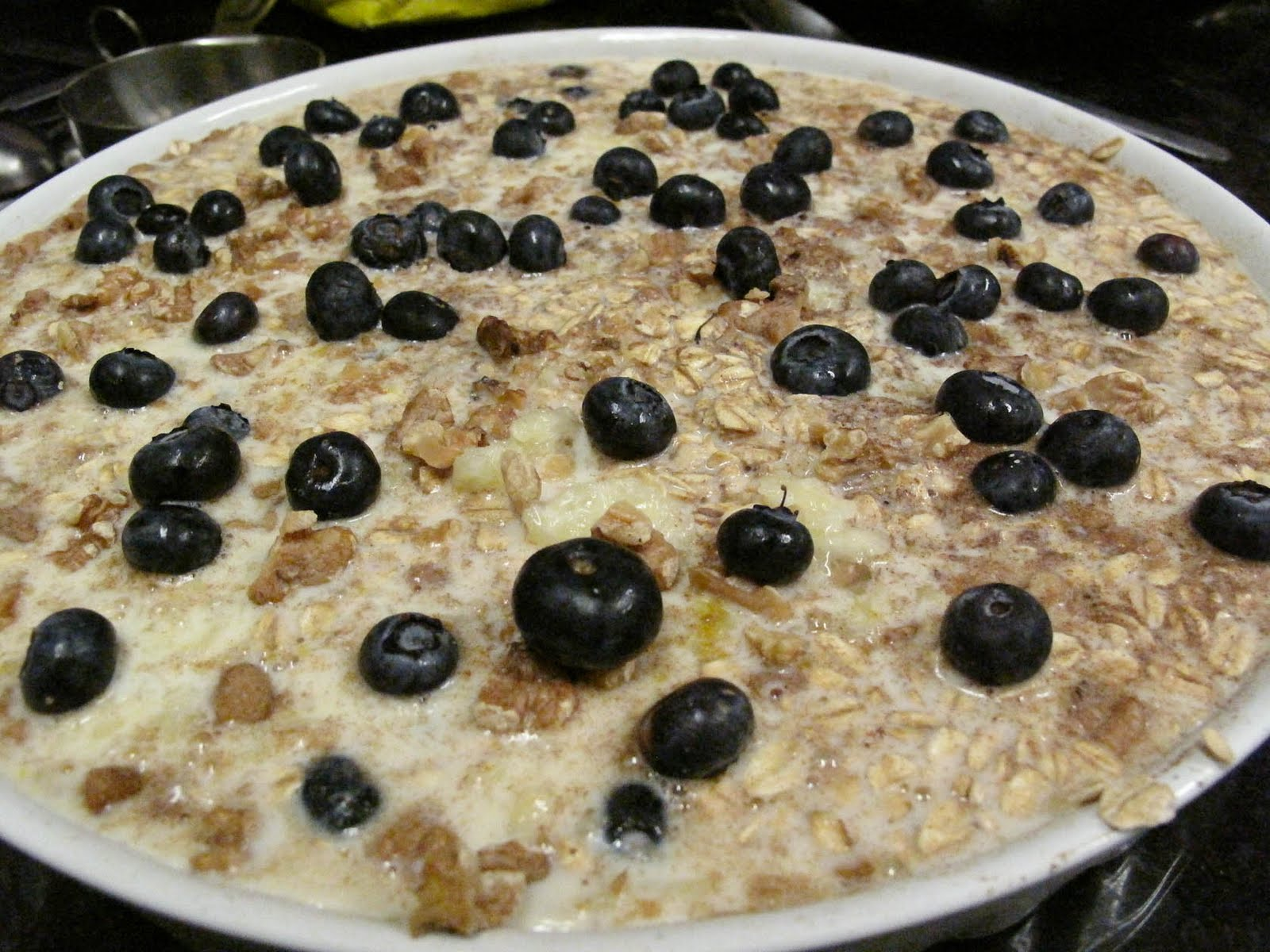 Oh Eat Dirt: Baked Blueberry Oatmeal