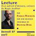 """Lecture de """"univers, univers"""" - le 27 avril"""