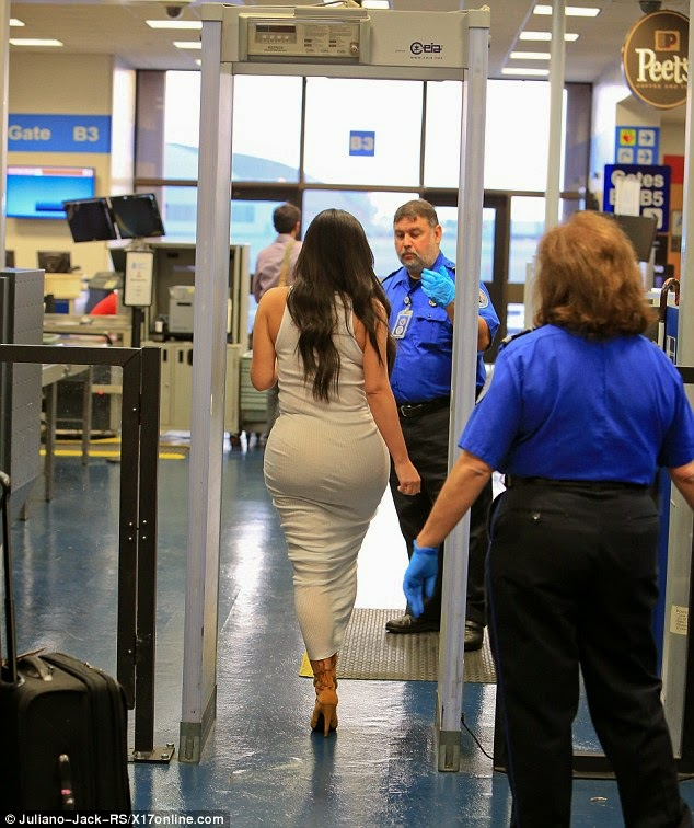 Airport security girls checkout cfnm 6