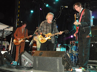 Randy Bachman and The iSadies at Mariposa Folk Festivalin Orillia. Photograph by Brian Quinn, Travel Writer