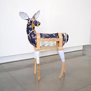 Bryan Christiansen, 2011, Doe (Floral Sofa)