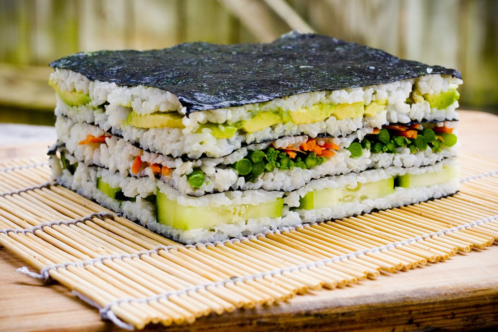 How to make sushi cake