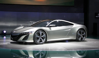 Acura  2012 on Acura Nsx Production Version Identical To Concept   Acura Nsx   Zimbio