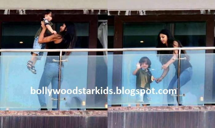 Bollywood Star Kids Shahrukh Khan 39 S Kids Abram And Suhana
