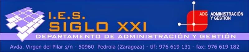 Departamento Administración y Gestión. IES SIGLO XXI