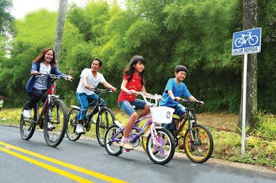 Jalur Khusus Sepeda di CitraRaya