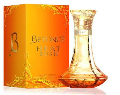 Celebrity Perfumes - Beyoncé Heat Rush
