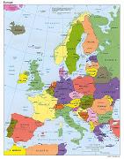 Kort over EuropaDer er mange kort over Europa på linje, som du kan bruge. (kort over europa politisk)