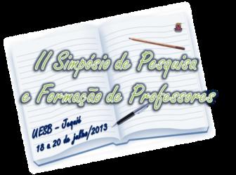II Simpósio sobre pesquisa e formação de professores