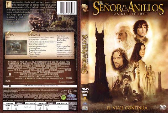 El Senor De Los Anillos Las Dos Torres Dvd