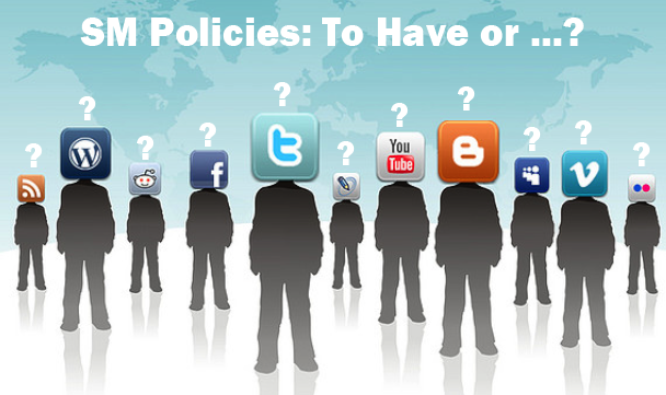 Should your organization have a social media policy?