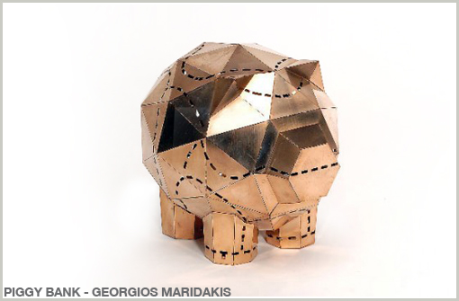 COPPER PIGGY BANK - GEORGIOS MARIDAKIS