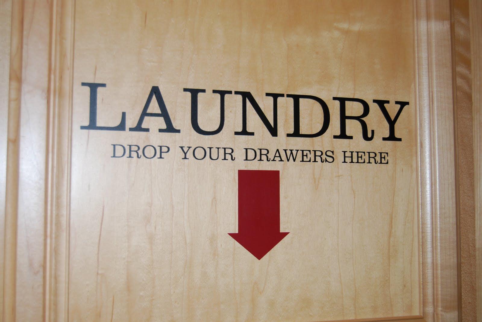 Laundry Humor