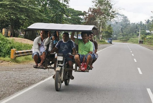 Indian Jugaad With Motorcycle