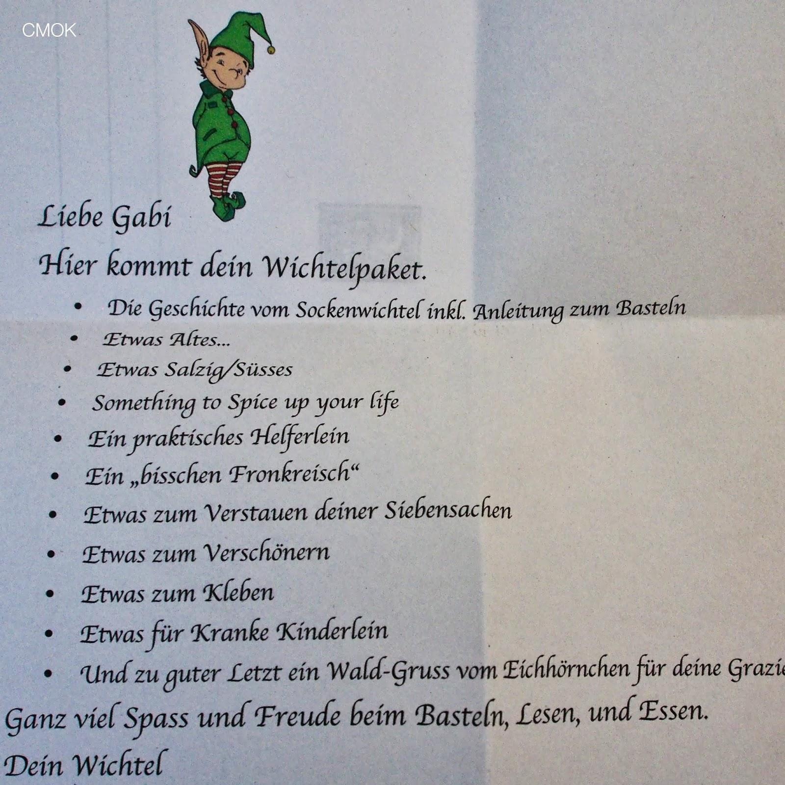 Cmok Happy End Vom Schweizer Wichteln
