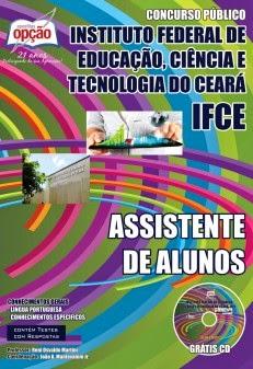 Apostila Assistente de Alunos Concurso IFCE - Instituto Federal do Ceara 2014