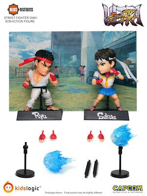 Ryu e Sakura della Kids Logic