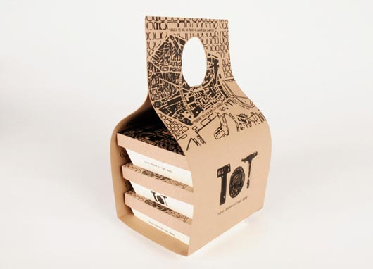 Take Away Food Packaging Design