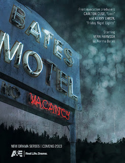 Ad for A&E's new series Bates Motel