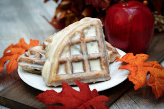 apple-fritter-waffles