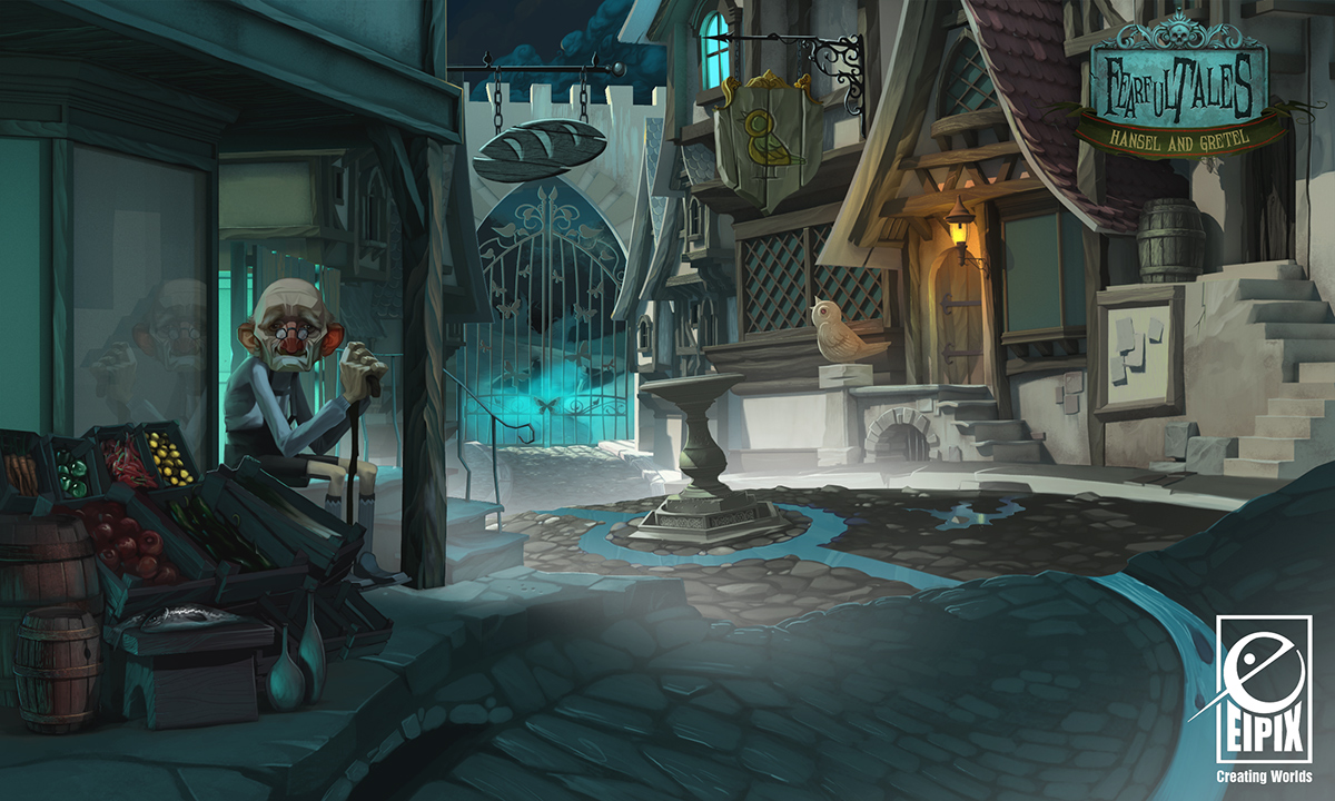 Nja3d fearful tales hansel and gretel part iv - Hansel home ...