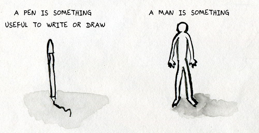 Pen and Man