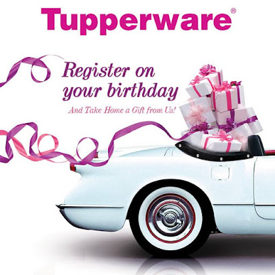 Free Birthday Treat from Tupperware Brands