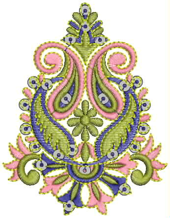 Designer Dress Patterns on Indian Patch Embroidery Designs   Embdesigntube