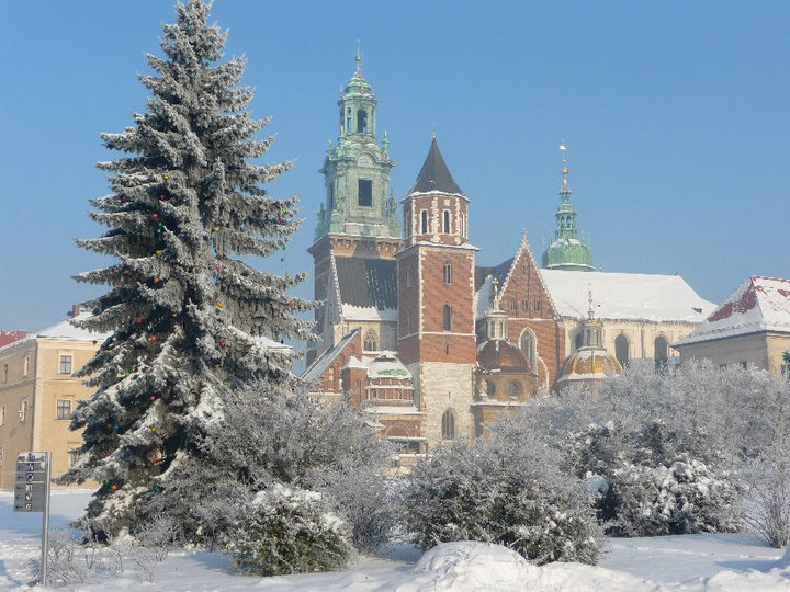Cristine Farinas Winter In Krakow Poland