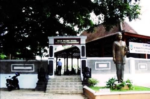 Gambar lokasi pintu masuk makam RA Kartini bulu rembang