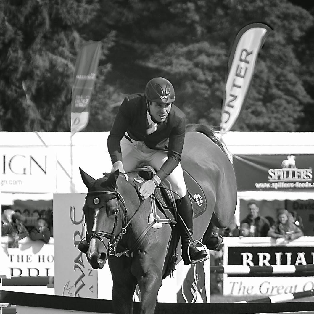 Show jumping at Blair Castle International Horse Trials