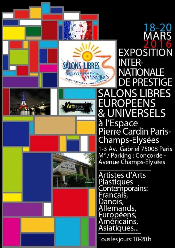 Exposition Salons libres Européens