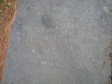 The graves of HERBERT D. CROLY & HIS WIFE