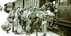 Imagen de la exposición 'Memorial del Servicio Militar Obligatorio: Recuerdos de la mili', organizada por la Inspección General del Ejército. - Foto IGE