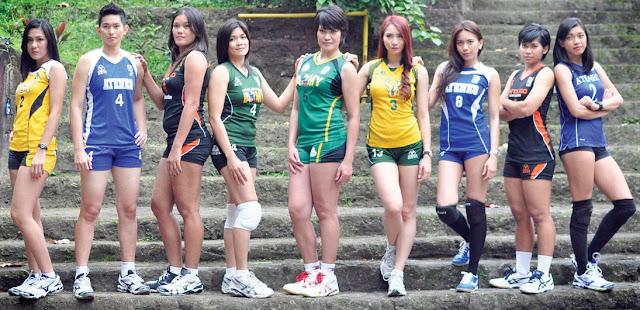 volleyball Philippines,Angeli Tabaquero, Suzanne Roces, Nerissa Bautista, Michelle Carolino, Mary Jean Balse, Rachel Anne Daquis, Charo Soriano, Angela Benting and Alyssa Valdez