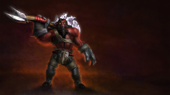 mogul khan the axe dota 2 game hd