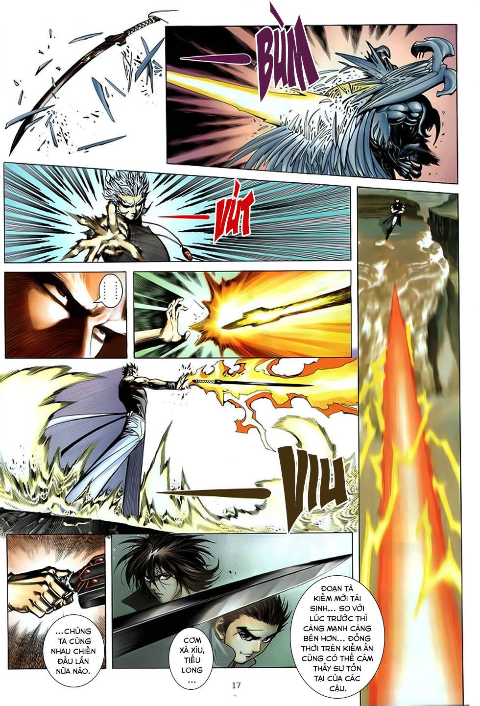 Chiến Thần Ký chap 39 - Trang 18