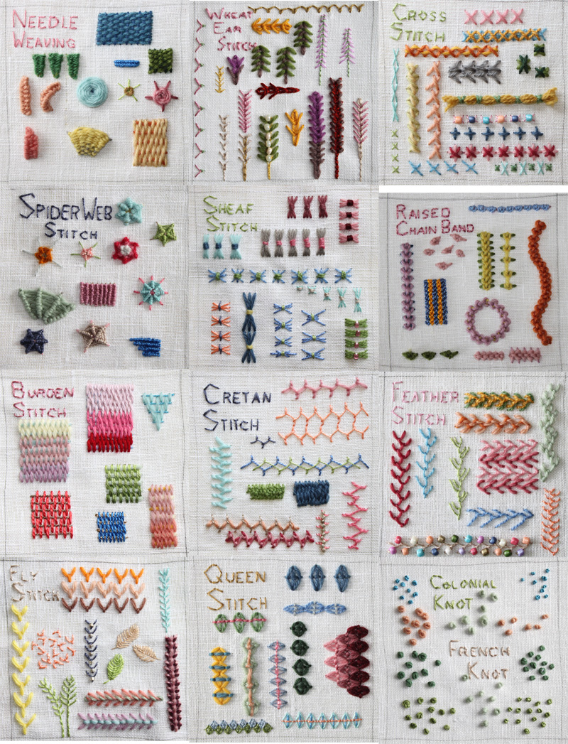 Gallery For Gt Hand Embroidery Stitches For Beginners