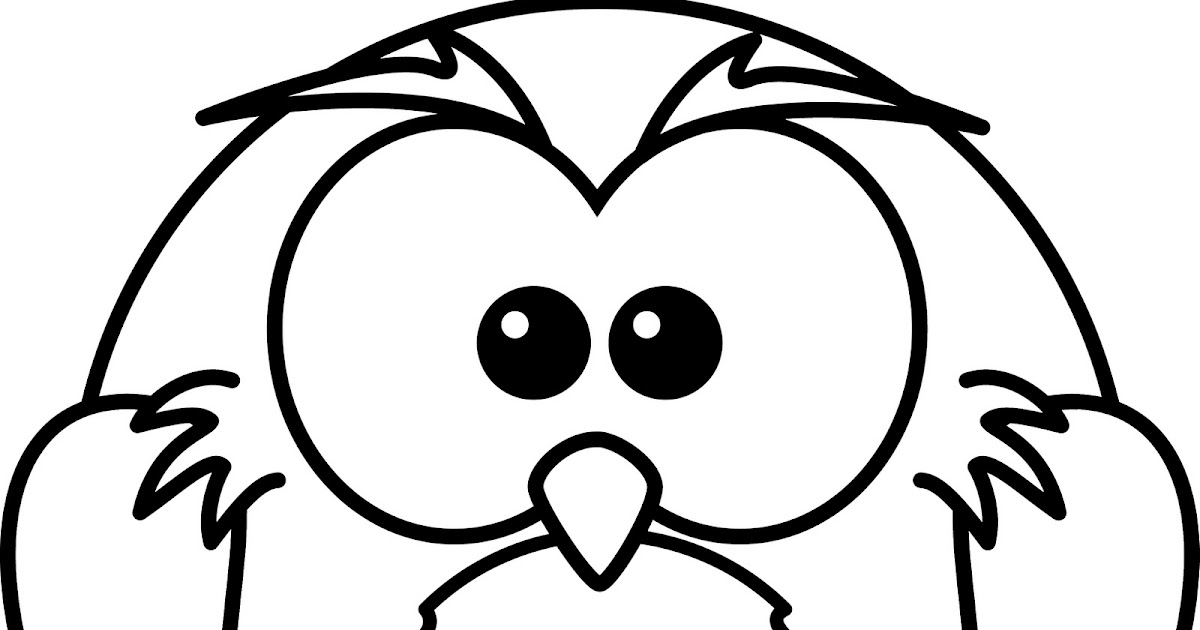 Baby owls coloring sheet to print for Tapir coloring page