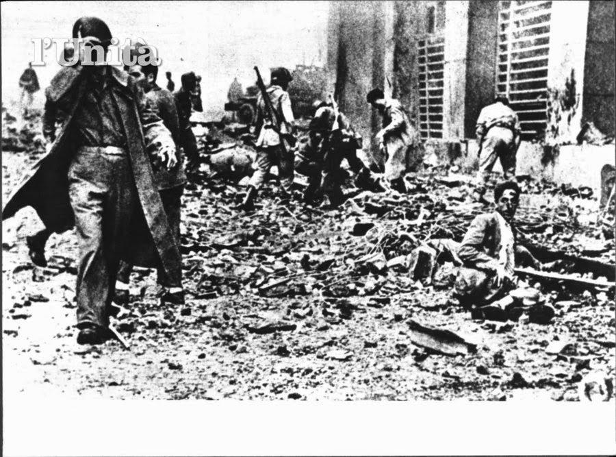 Risultati immagini per bombardamenti di napoli seconda guerra mondiale