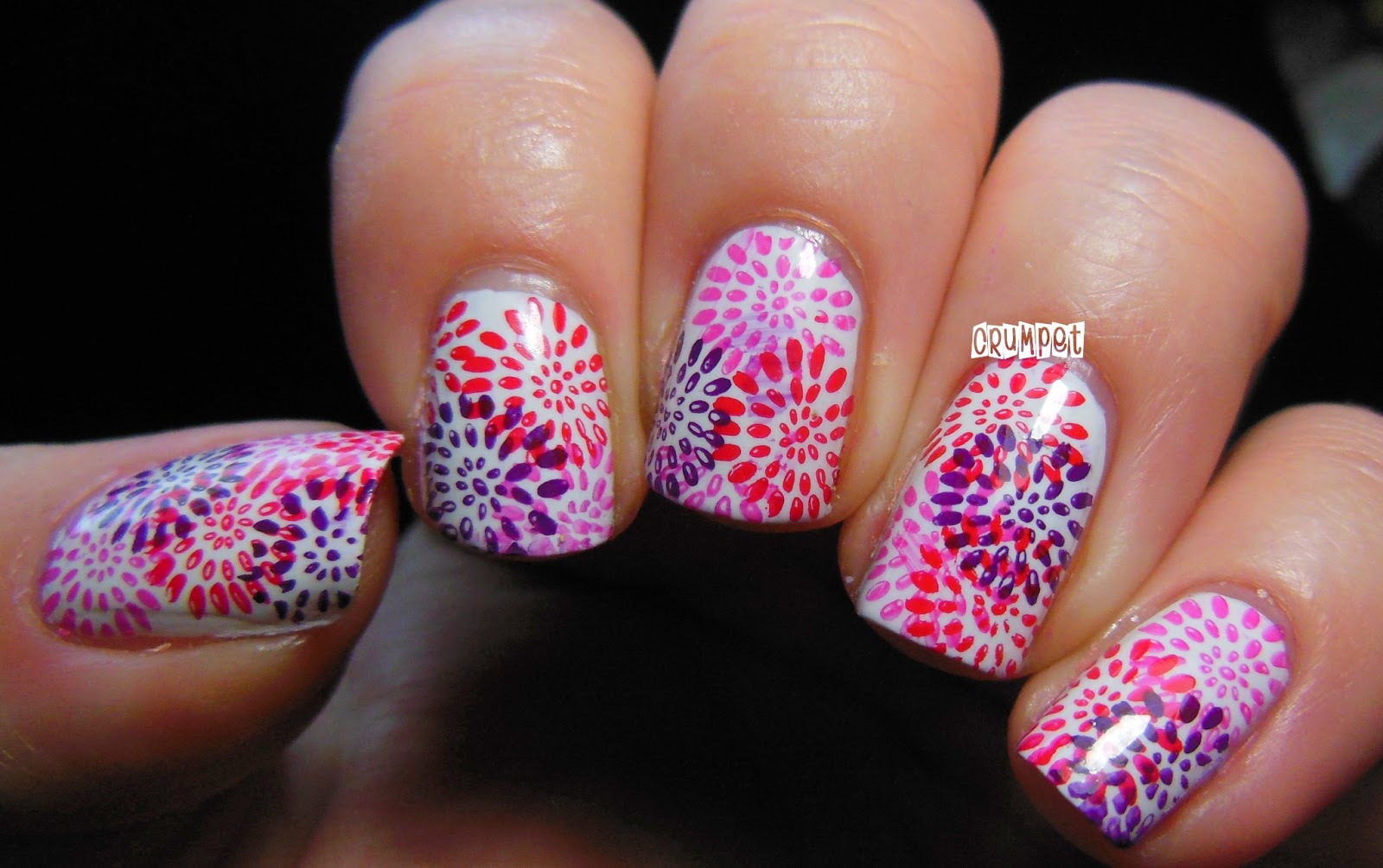Firework Nail Art Tutorial Nails Gallery