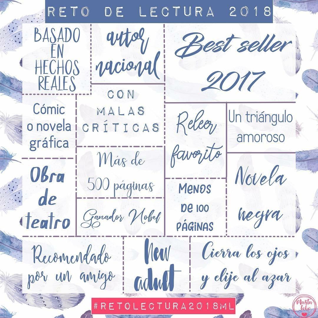 #RETOLECTURA2018ML