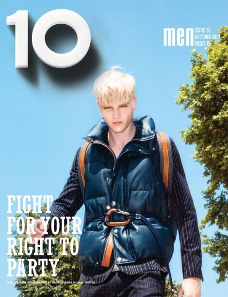 Matt McGlone by Magnus Unnar for 10 Men Magazine