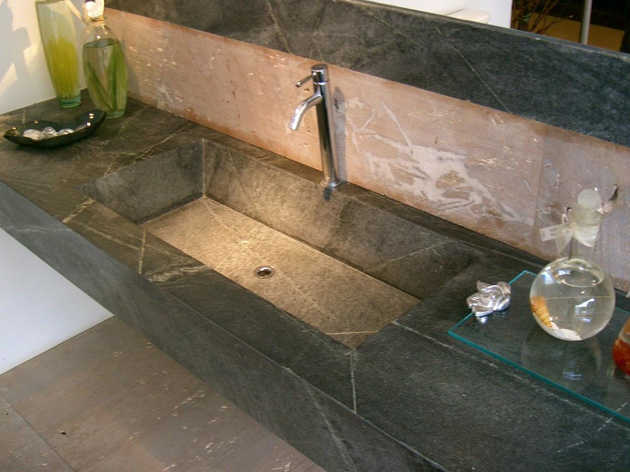 transitional undermount sink - Soapstone Sink
