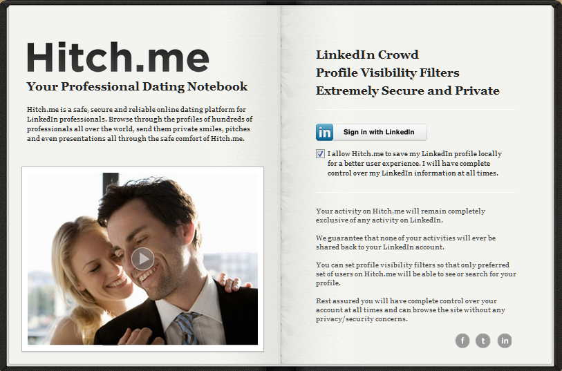 linkedin dating site