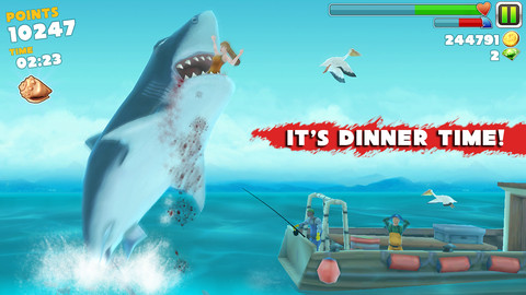 Hungry Shark Evolution, iPhone Action Games  Free Download, iPhone Applications