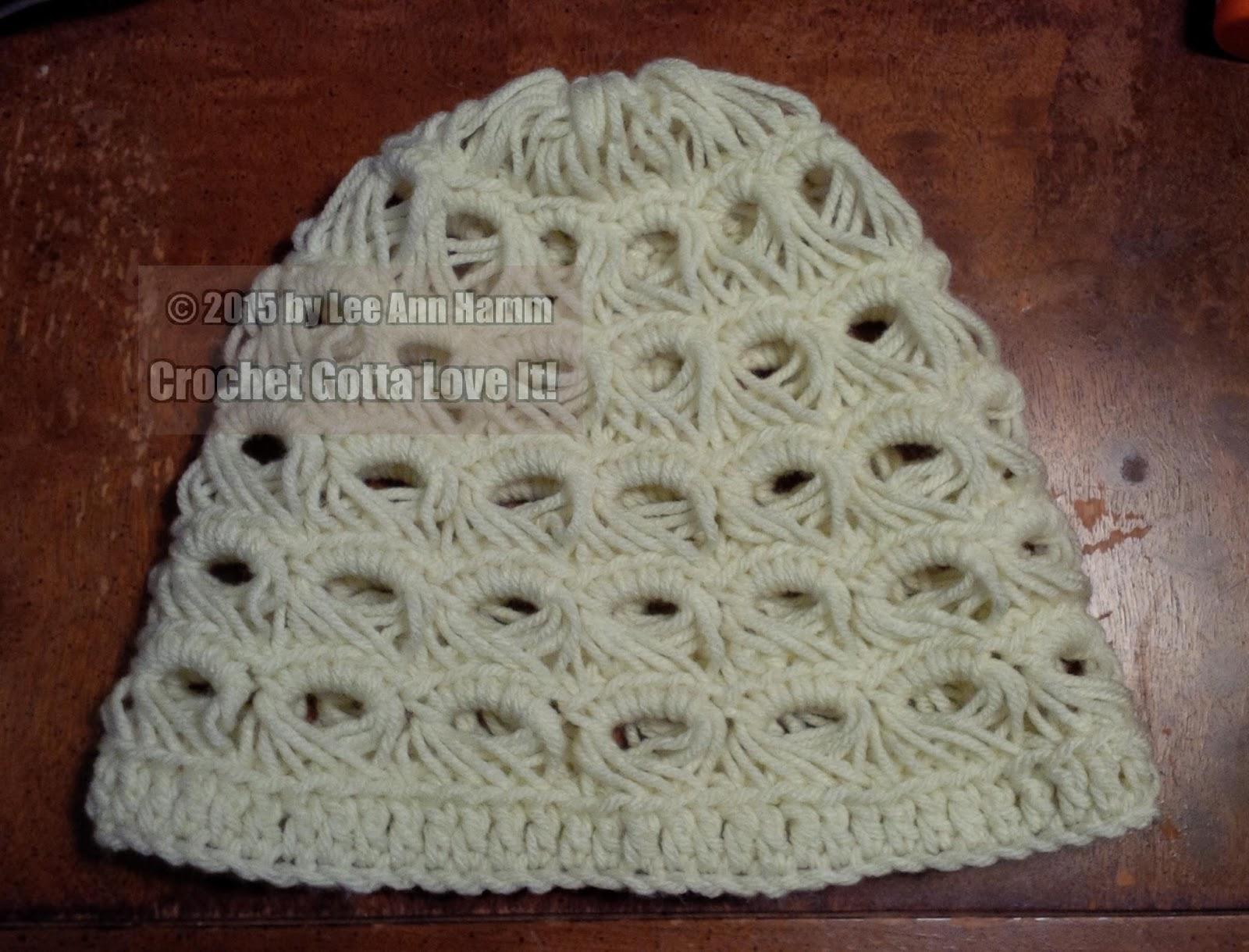 Crochet...Gotta Love It! Blog: Broomstick Lace Hat